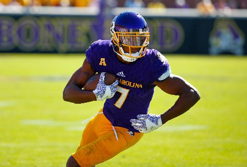 Zay Jones, all-time college catches king and Bills pick, thinks he has NFL draft's best hands