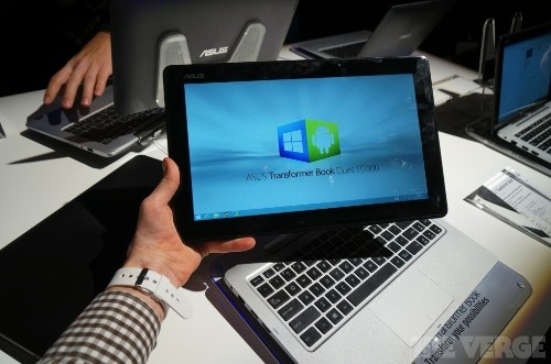 The Transformer Book Duet combines Windows with Android, tablet with laptop