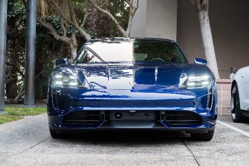 Porsche Taycan catches fire in Florida