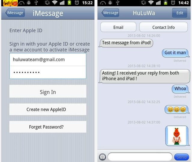 iMessage for Android looks like a great way to compromise your security