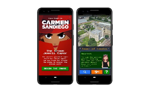 Now you can try to catch Carmen Sandiego in Google Earth