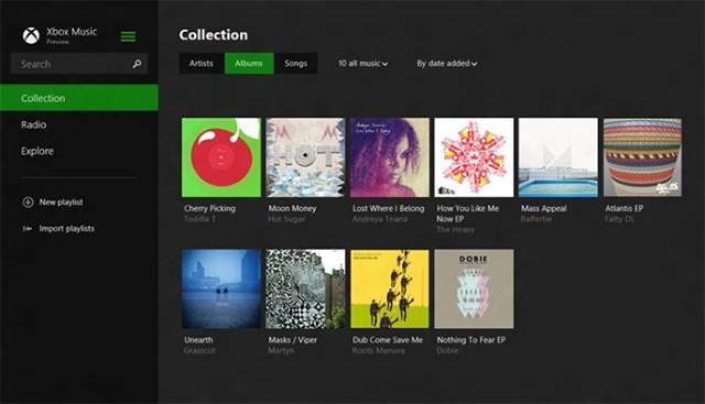 Xbox Music redesign revealed alongside new Windows 8.1 apps