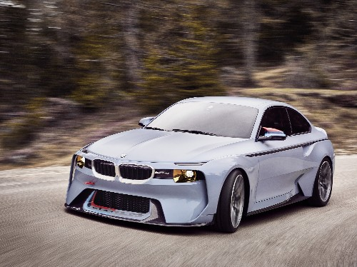 The 2002 Hommage concept pays tribute to BMW's most important car