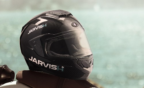 Jarvish's smart motorcycle helmets will offer Alexa and Siri support and an AR display