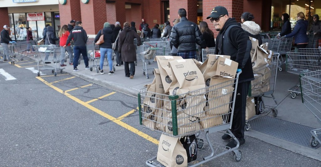 It's Nearly Impossible to Get Big Box Grocery Delivery in NYC Right Now