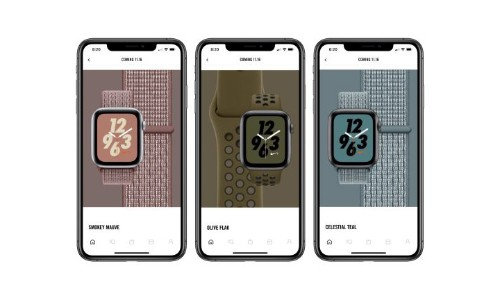 Three new bands are coming for the Apple Watch Nike+