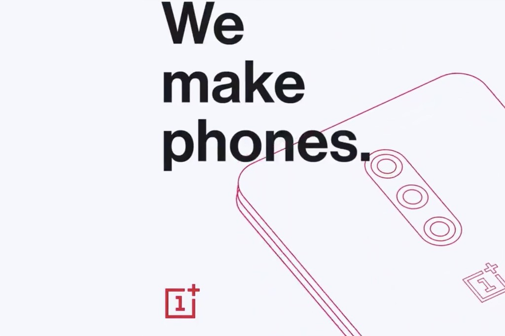 The OnePlus 7 Pro will have three cameras on the back