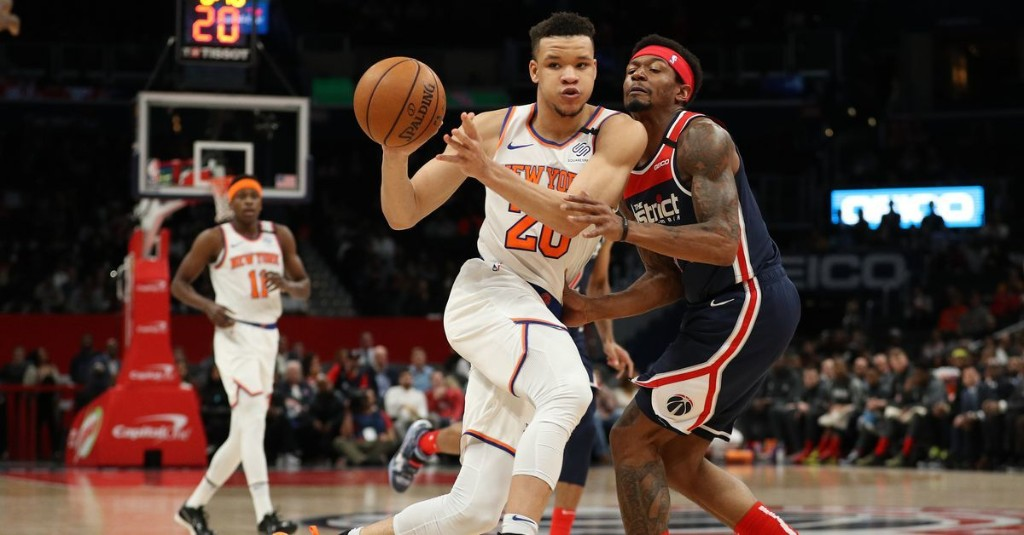 A defense of Kevin Knox, the most persecuted player of the NBA bubble season