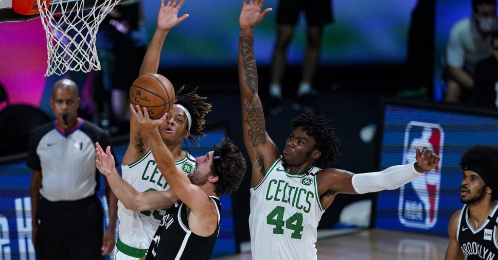Celtics bench comes alive in blowout against Nets