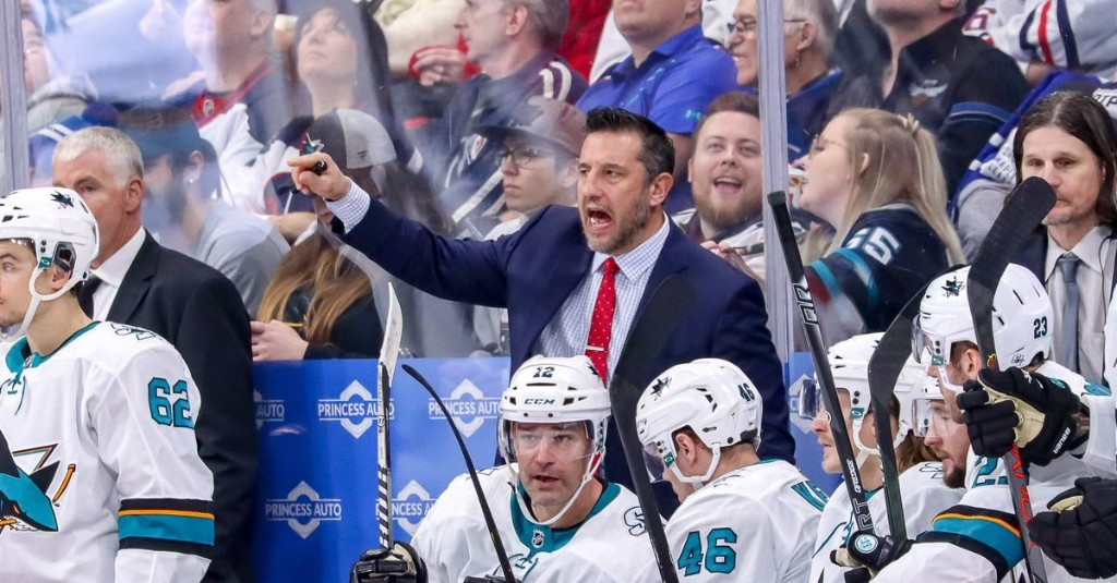 Bob Boughner to be named Sharks head coach in 'next week or two'
