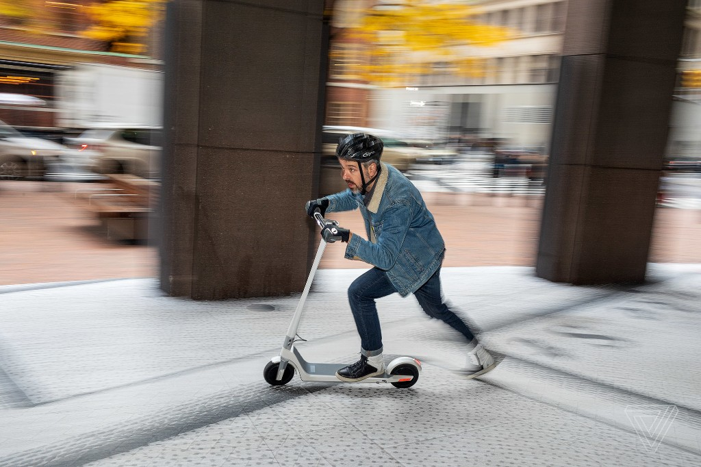 Unagi is the $1,190 electric scooter you won't want to share with anyone