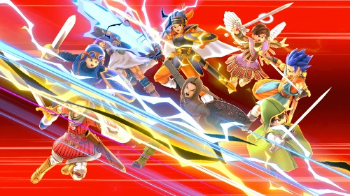 Super Smash Bros. Ultimate is adding Dragon Quest XI's hero later today