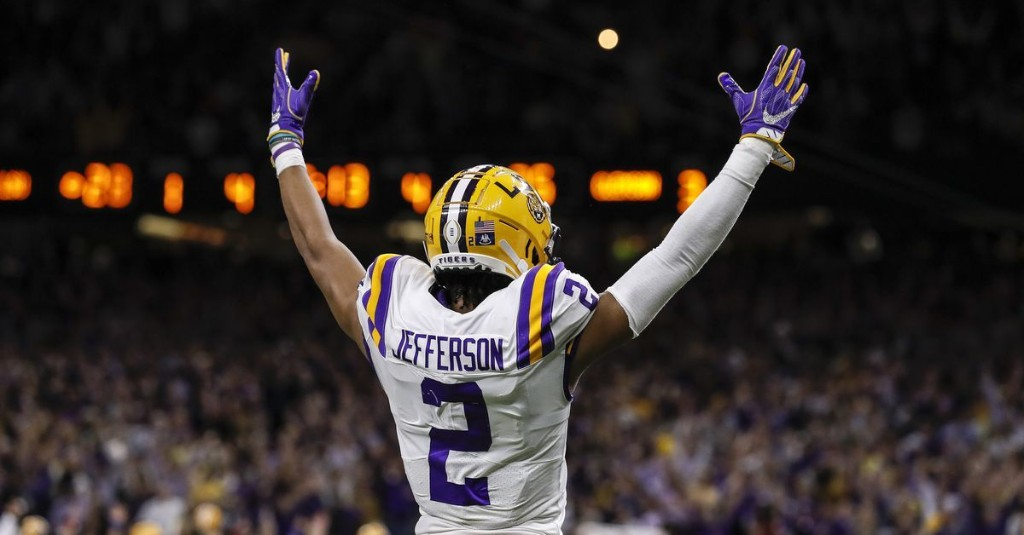 NFL Draft Rumors: Multiple reports indicate Justin Jefferson is the Eagles' target at No. 21