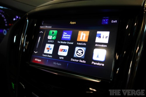 GM commits to in-car apps by the end of the year