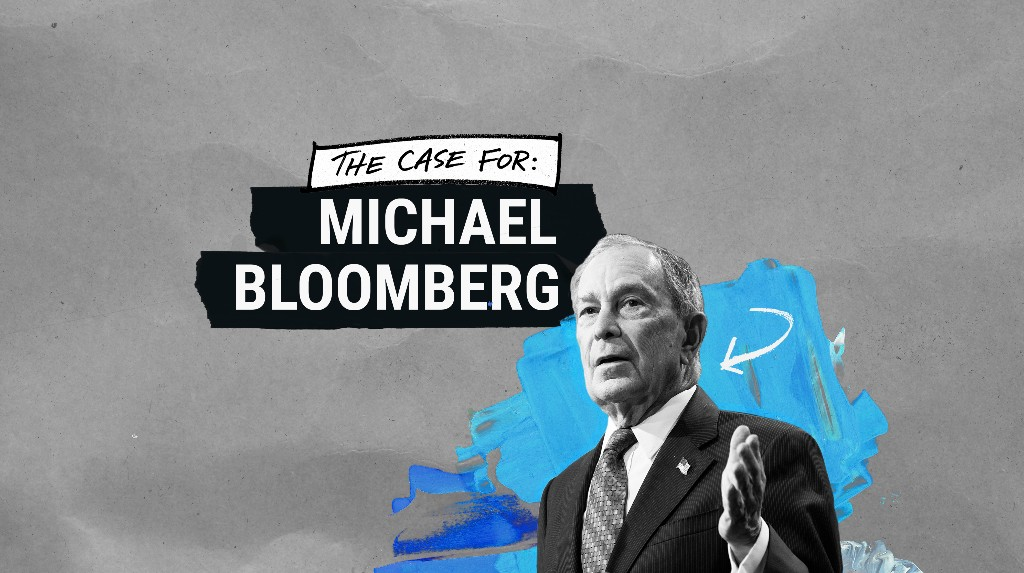 Mike Bloomberg's 2020 presidential campaign - cover