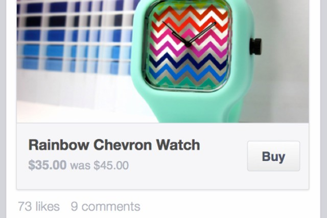 Facebook testing Buy button that lets you shop without leaving Facebook