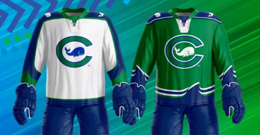 Whale's new jersey for the 2020-21 season revealed on NWHL Open Ice