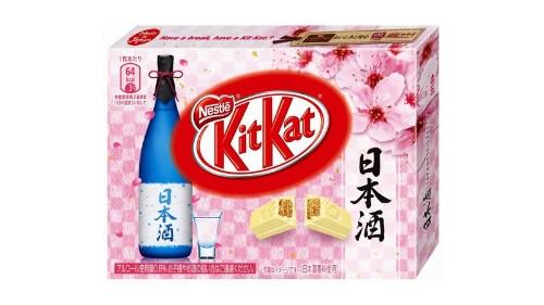 Japan's latest KitKat flavor is smooth sake