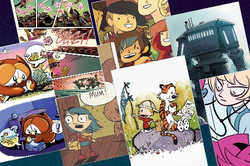 50 of the best comics for kids