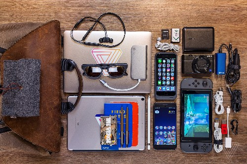 What's in your bag, Dieter Bohn?