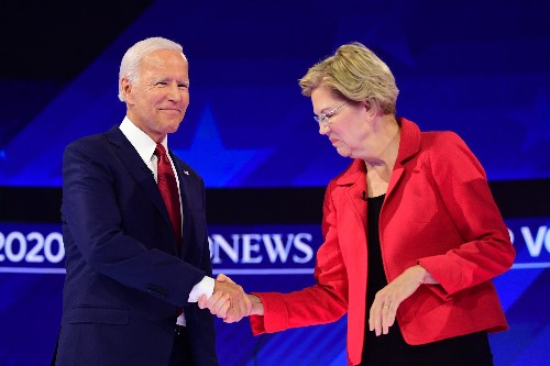Warren and Biden release new campaign finance reform plans before the Democratic debate