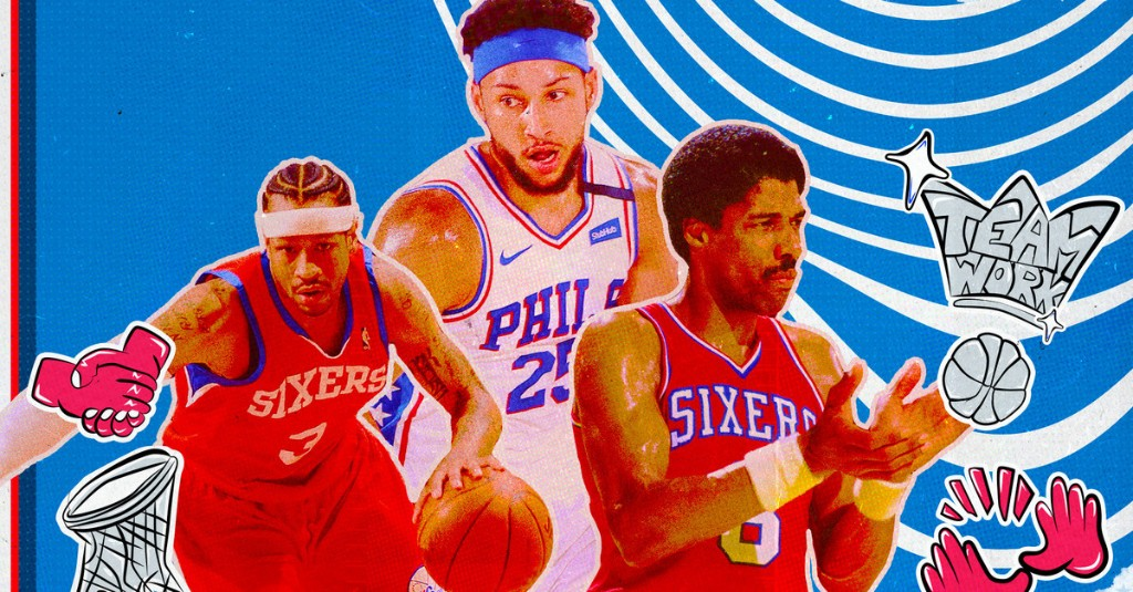 What is the greatest Sixers lineup ever?