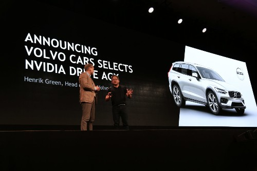 Volvo's next generation of cars will use Nvidia's self-driving car platform