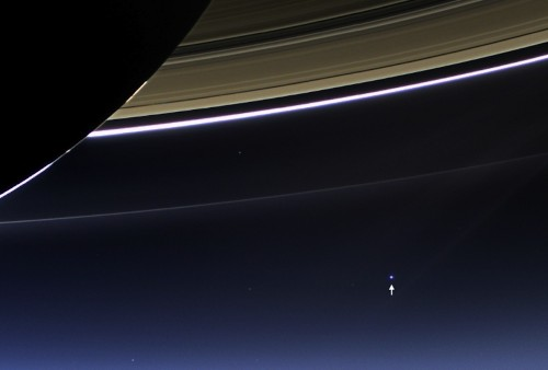 NASA's Cassini spacecraft captures breathtaking images of Earth from Saturn