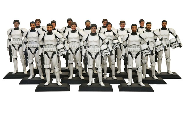 Disney puts your face on a 3D-printed Stormtrooper for $99.95
