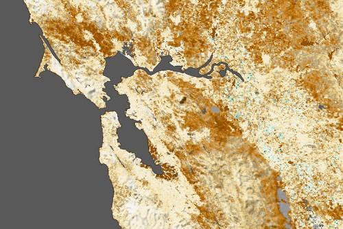 NASA is using satellites to track California's terrible drought