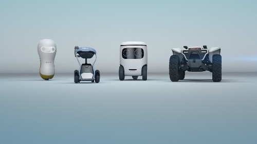 Honda's cute new robot concepts only want to help