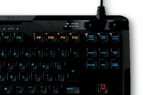 Logitech's G410 mechanical keyboard is a visual and tactile delight