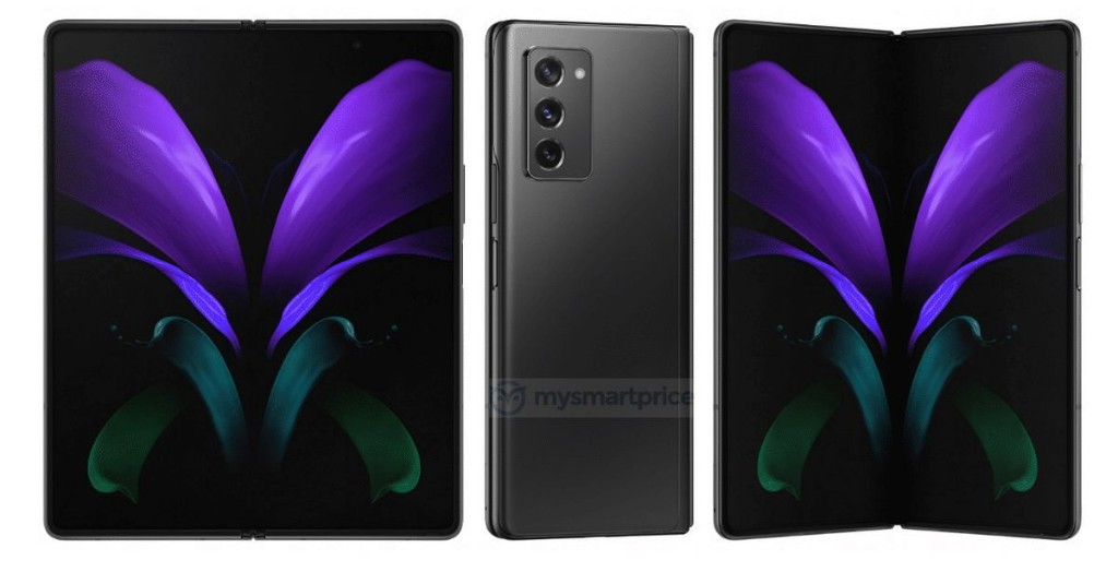 Samsung's Galaxy Z Fold 2 leak shows off hole-punch cameras and a bigger external display