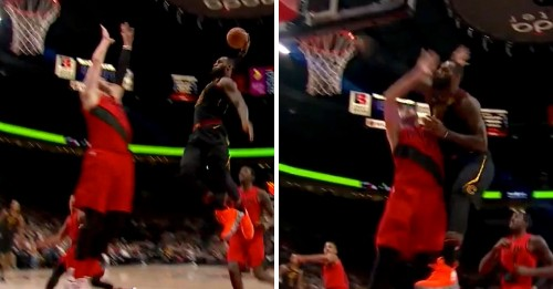 This dunk seriously might be LeBron James' best of his entire career