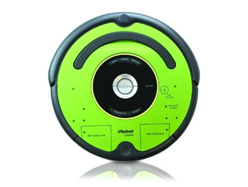 You can make your own DJ Roomba with the iRobot Create 2