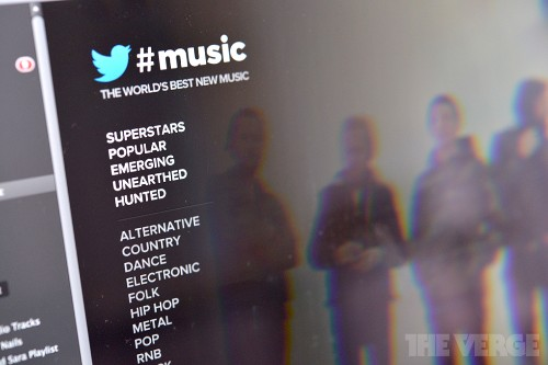 Twitter #Music becomes more useful with its own Spotify app