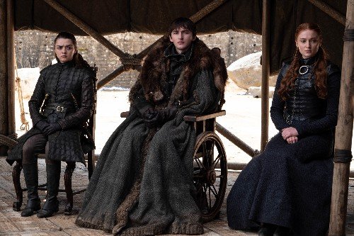 Who were the people at Game of Thrones' pivotal finale meeting?