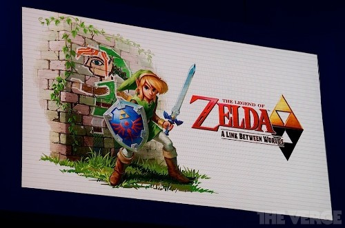 Back to the future: Nintendo's new 'Legend of Zelda' games have a new look but the same feel