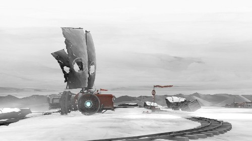 Far: Lone Sails is a meditative journey through the end of the world