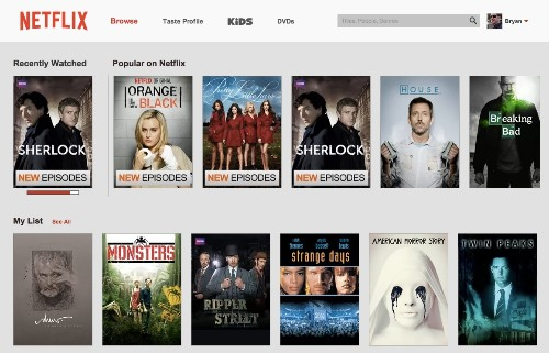 Netflix receives new logo and subtle website makeover