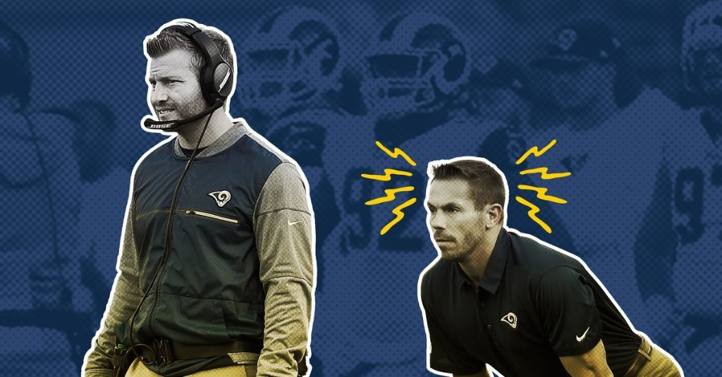 Sean McVay's Get-Back Coach Is the Super Bowl's Worst Fashion Accessory