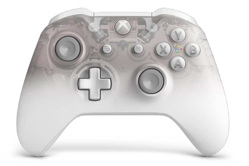 Microsoft's translucent Phantom controller now comes in white