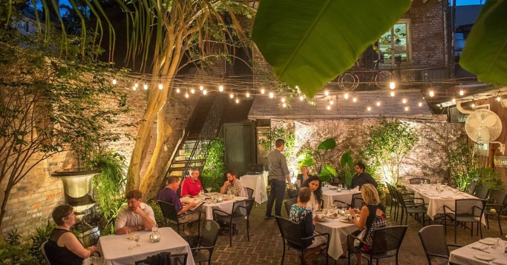 Date Night Dining Under the Stars in New Orleans