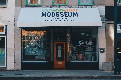 There's now a museum dedicated to Robert Moog and synthesis called the Moogseum