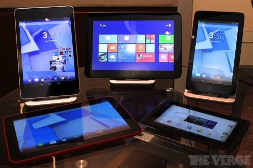 HP reveals five new tablets, but the company's most exciting Slate is built by someone else