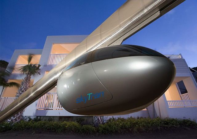 Tel Aviv latest city to consider futuristic 'maglev' personal transport system