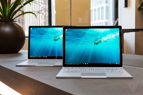 Microsoft unveils new Surface Book 2 model with Intel's latest quad-core processor