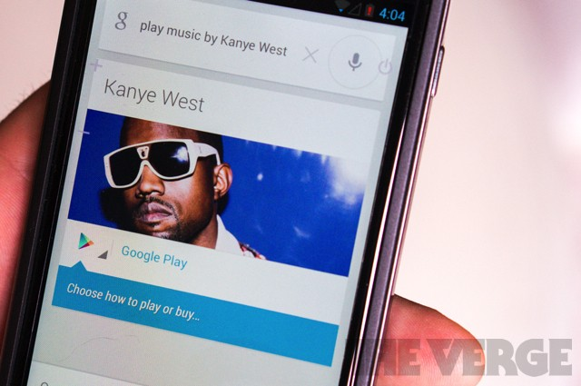 Google Now for Android adds cards for live TV, voice actions for music playback