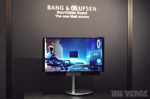 Bang & Olufsen's new 4K TV follows you around the room