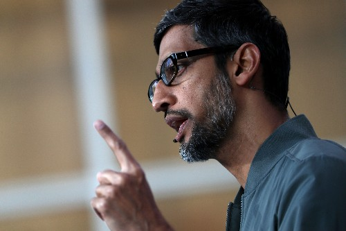 Google is scaling back its weekly all-hands meetings after leaks, Sundar Pichai tells staff